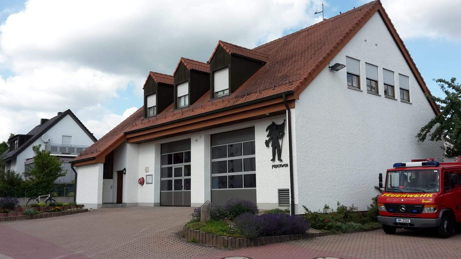 Ansicht Feuerwehrhaus