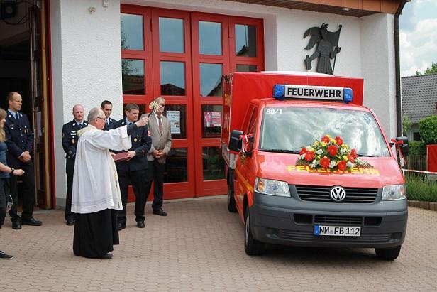 Neues Feuerwehrfahrzeug eingeweiht