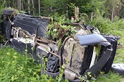 15. Verkehrsunfall zwischen Tyrolsberg und Woffenbach