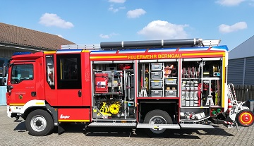Neues Einsatzfahrzeug für die FF Berngau-Tyrolsberg